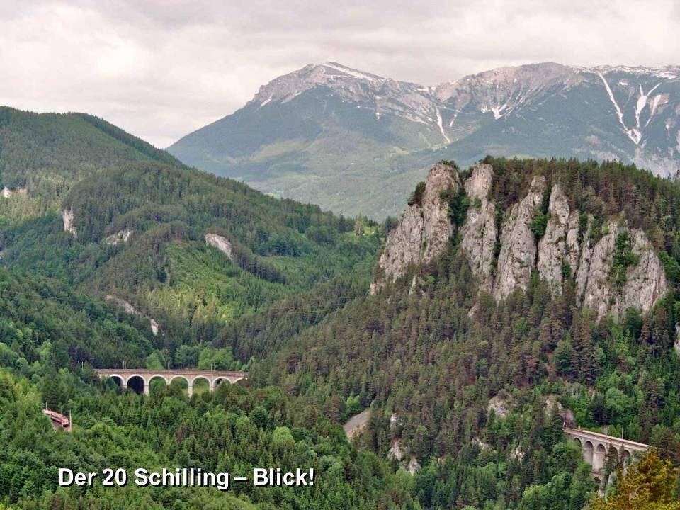 DieSemmeringbahn ist eine Teilstrecke der Südbahn.