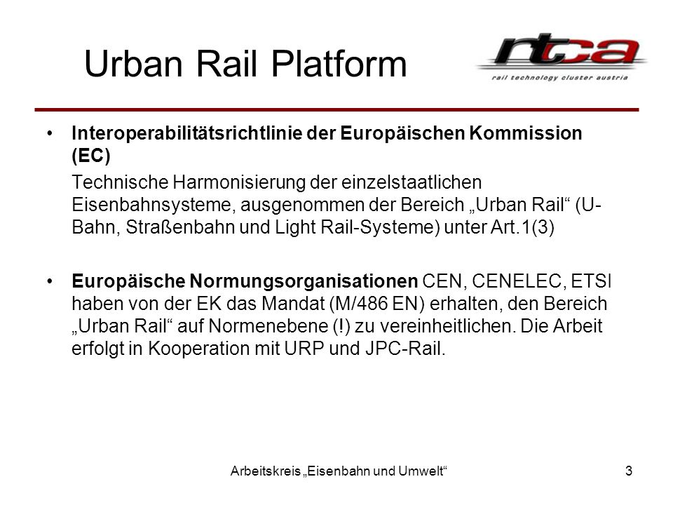 Differences Urban Rail / Field of Interoperability Figure 2: Sub-systems with major differences from interoperable systems (Source: URP)