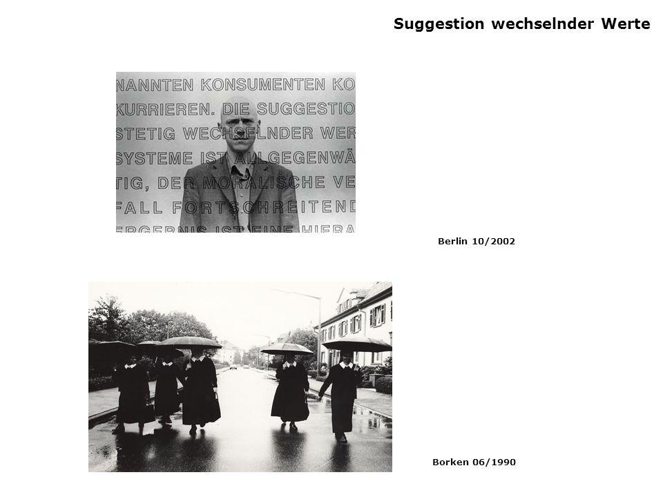 Suggestion wechselnder Werte Berlin 10/2002 Borken 06/1990