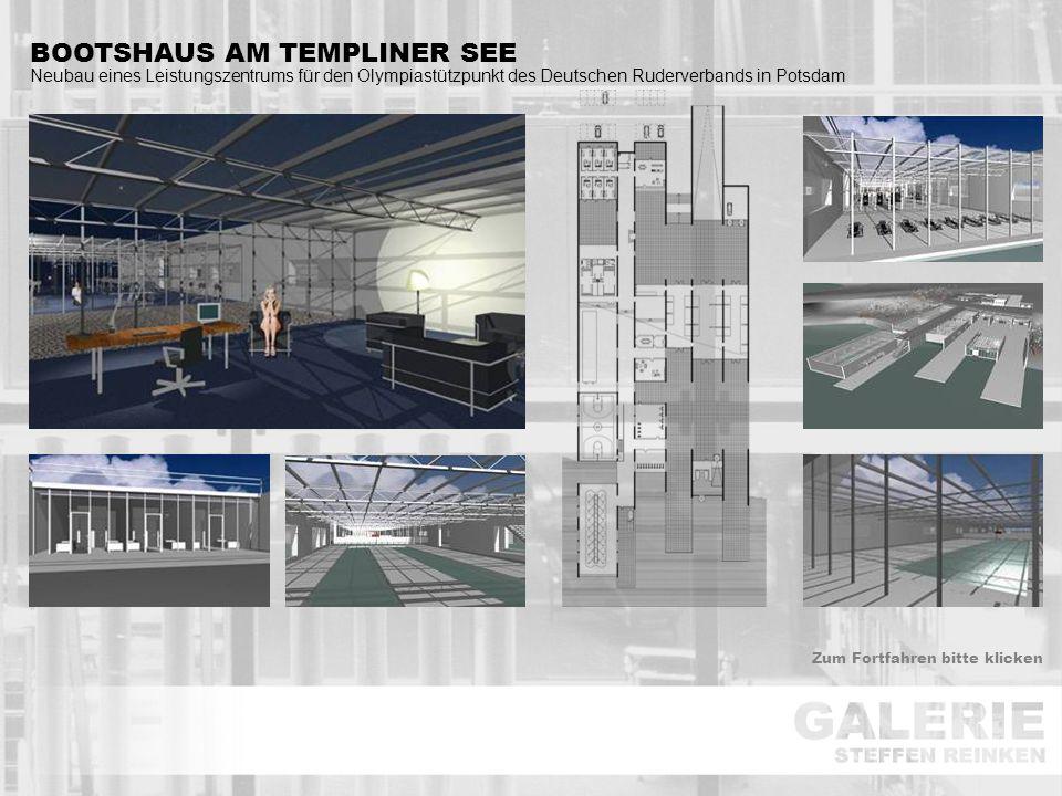 BOOTSHAUS AM TEMPLINER SEE Neubau eines Leistungszentrums für den Olympiastützpunkt des Deutschen Ruderverbands in Potsdam Zum Fortfahren bitte klicke