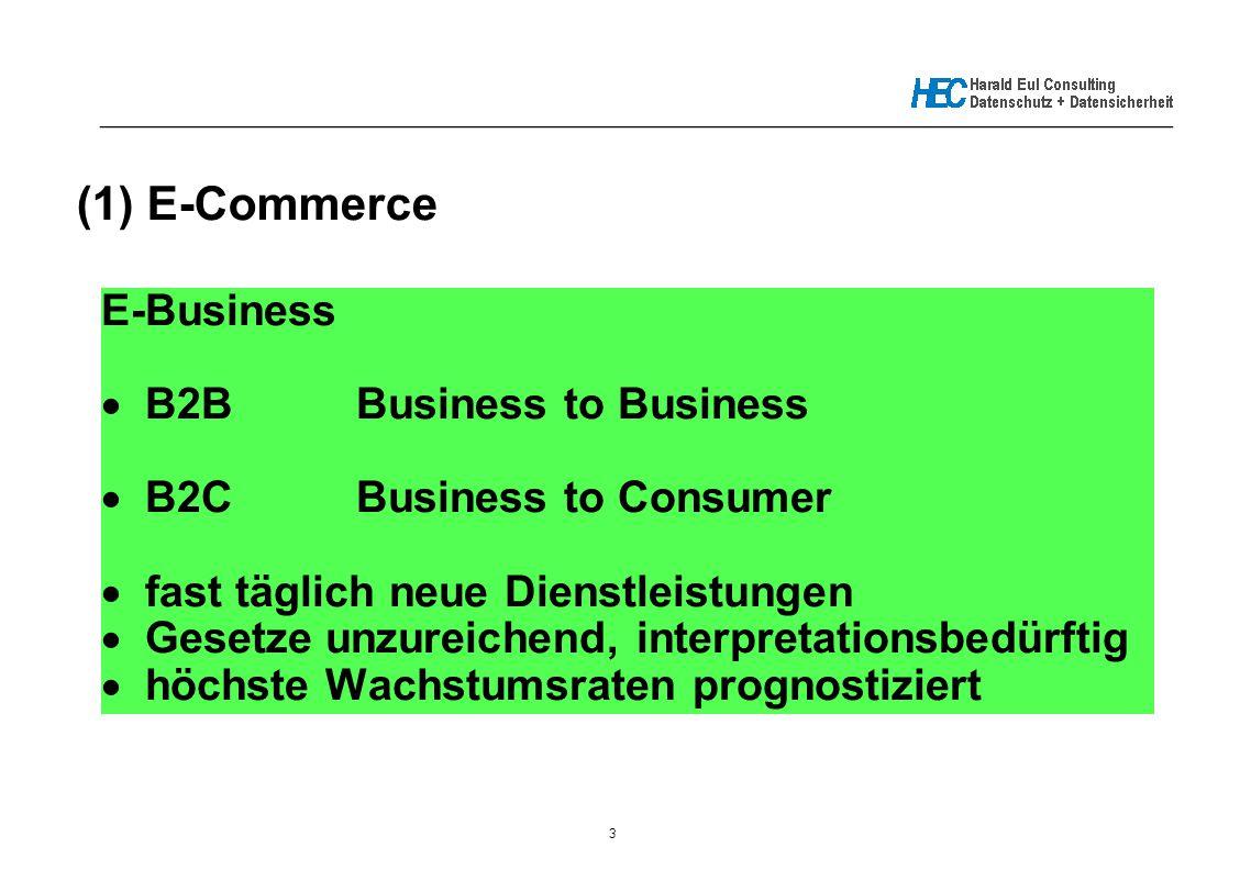 3 _____________________________________________________________ (1) E-Commerce E-Business  B2BBusiness to Business  B2CBusiness to Consumer  fast t