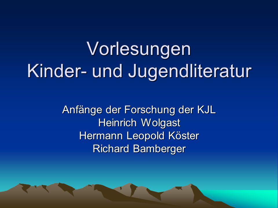Der erste deutsche Kinderbuch- Klassiker J.H.