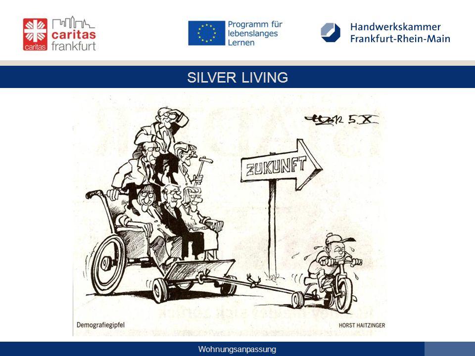 SILVER LIVING Wohnungsanpassung Barrierefreie Gehwege für alle mit EASYCROSS: taktil und farblich abgesetzt