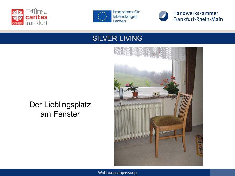 SILVER LIVING Wohnungsanpassung Der Lieblingsplatz am Fenster