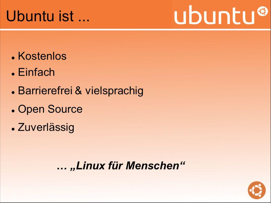 Ubuntu ist...