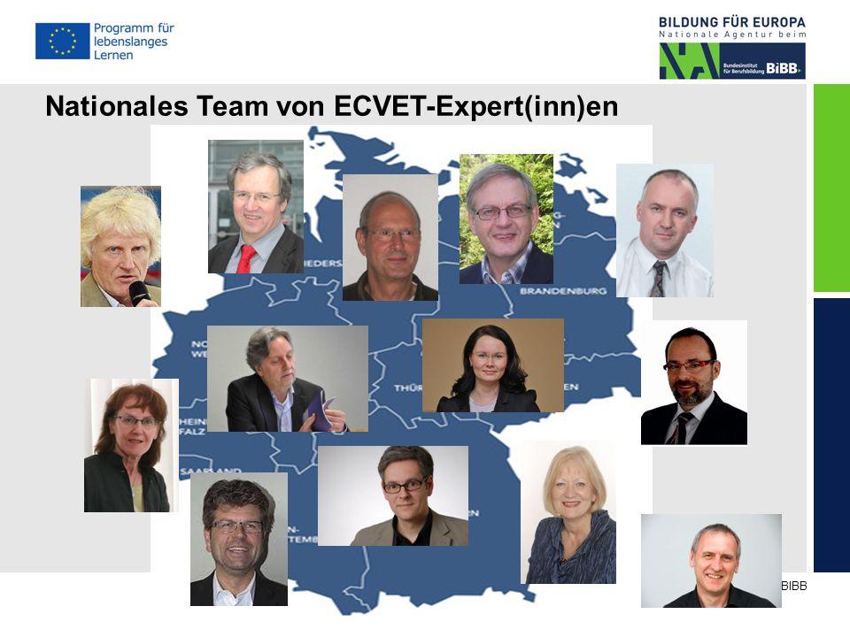 © NA beim BIBB Nationales Team von ECVET-Expert(inn)en