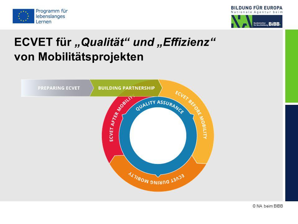 """© NA beim BIBB ECVET für """"Qualität"""" und """"Effizienz"""" von Mobilitätsprojekten"""
