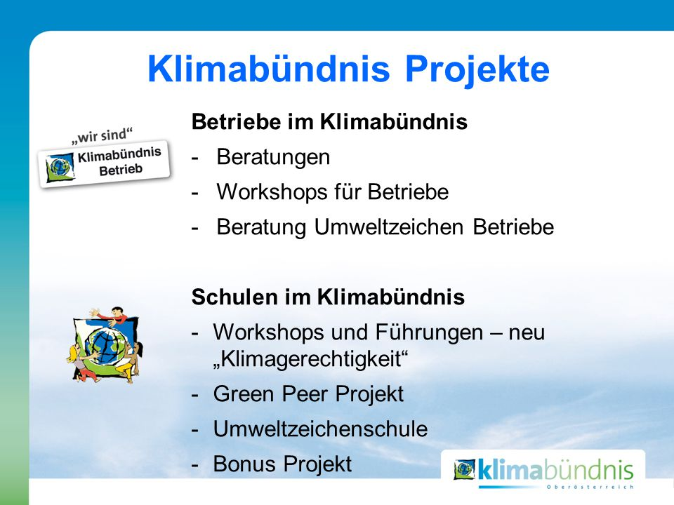 """Förderungen Förderschwerpunkt: """"Fahrzeuge mit alternativen Antrieben Förderungen von E- Ladestationen für Oberösterreichische Gemeinden"""
