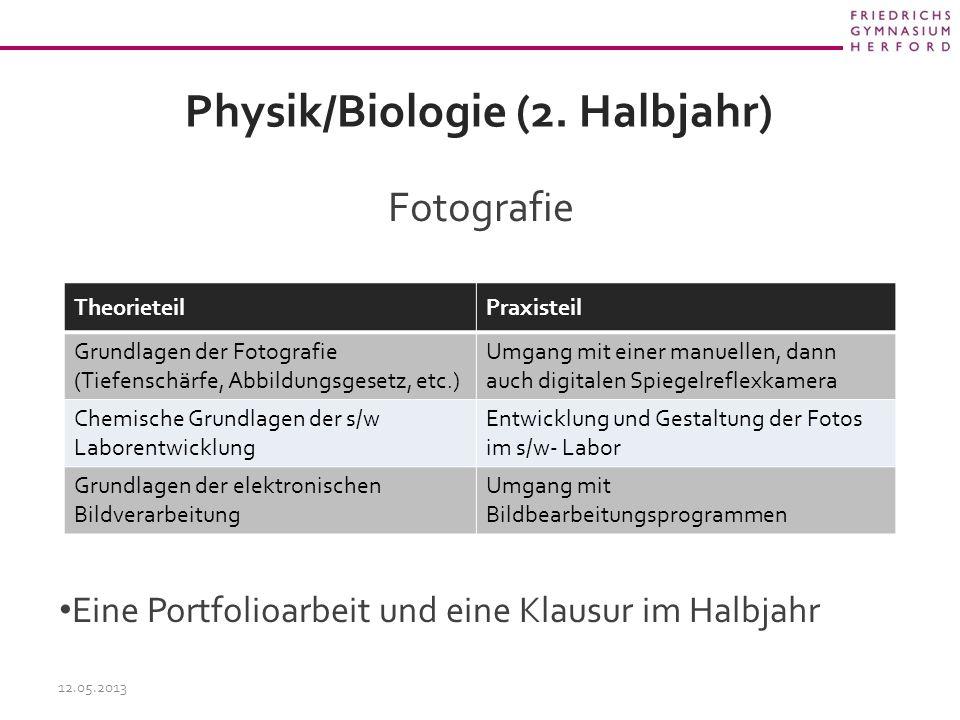 Physik/Biologie (2.