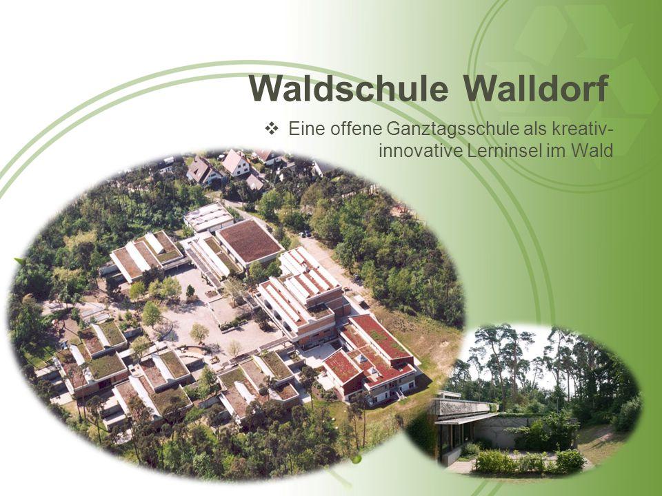 Waldschule Walldorf  Eine offene Ganztagsschule als kreativ- innovative Lerninsel im Wald