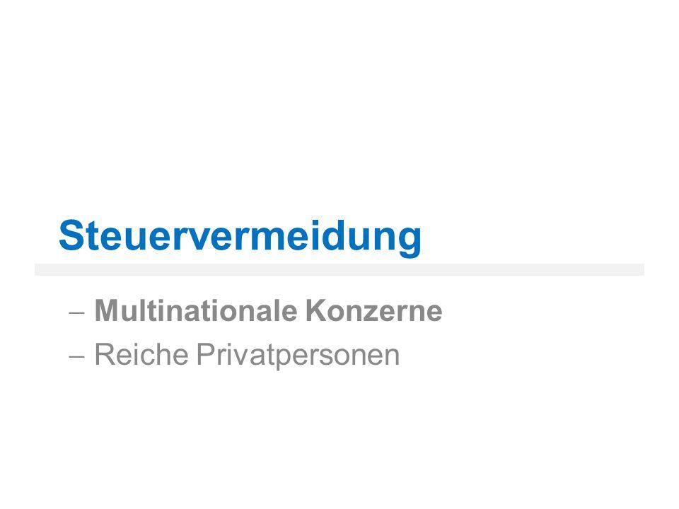 Quellen Abbildungsverzeichnis Abbildung 1: Privates Vermögen in Steueroasen http://images.derstandard.at/2009/03/04/1234577942531.jpg (26.12.2012) http://images.derstandard.at/2009/03/04/1234577942531.jpg Literaturverzeichnis Liebert, Nicola: Steuergerechtigkeit in der Globalisierung.