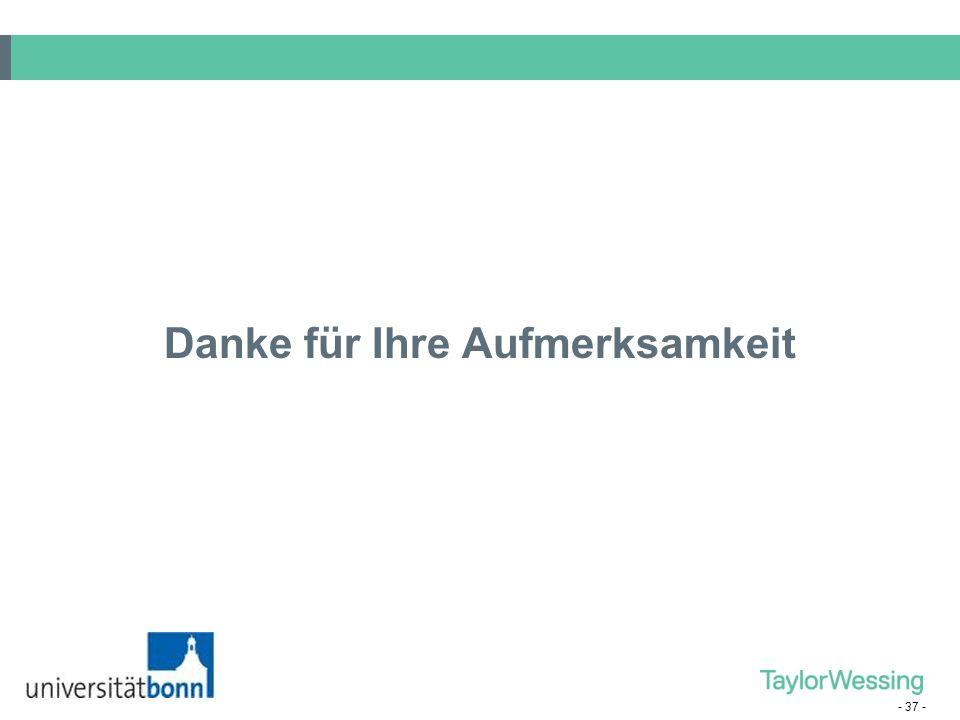 - 36 - (10) Branche Spezialisierung auf die Bedienung eines bestimmten Marktsegments (z. B. Technologieunternehmen, Telekommunikation, Banken, Maschin