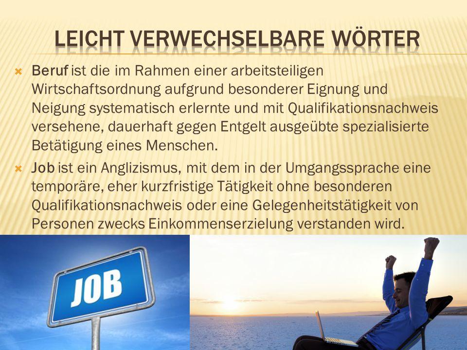  Die Karriere oder berufliche Laufbahn ist die persönliche Laufbahn eines Menschen in seinem Berufsleben.