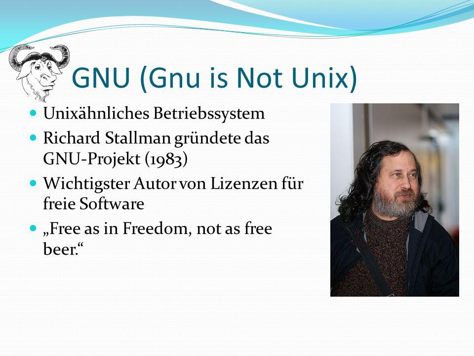 Shell = ein Programm, das zwischen dem Benutzer und dem Betriebssystem arbeitet Ausführung von Befehlen und Programmen jede Shell verfügt über eine eigene Skriptsprache Standardshell unter Linux: Bash (Bourne Again Shell)  Wichtigster Unterschied zu Windows