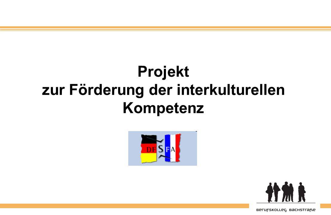 Projekt zur Förderung der interkulturellen Kompetenz