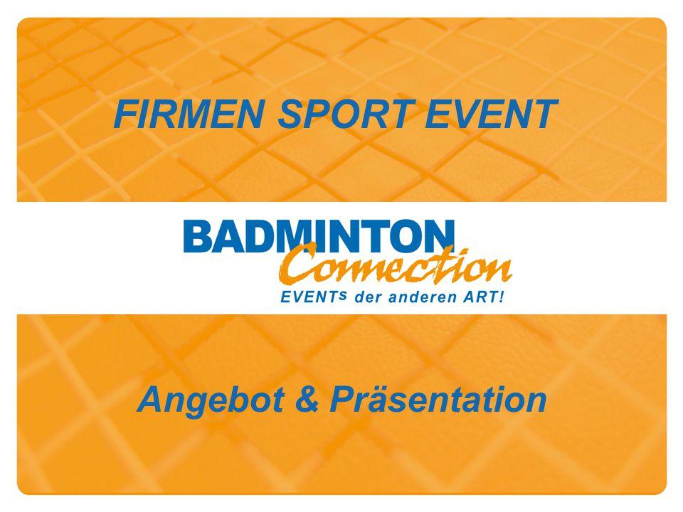 FIRMEN SPORT EVENT Angebot & Präsentation
