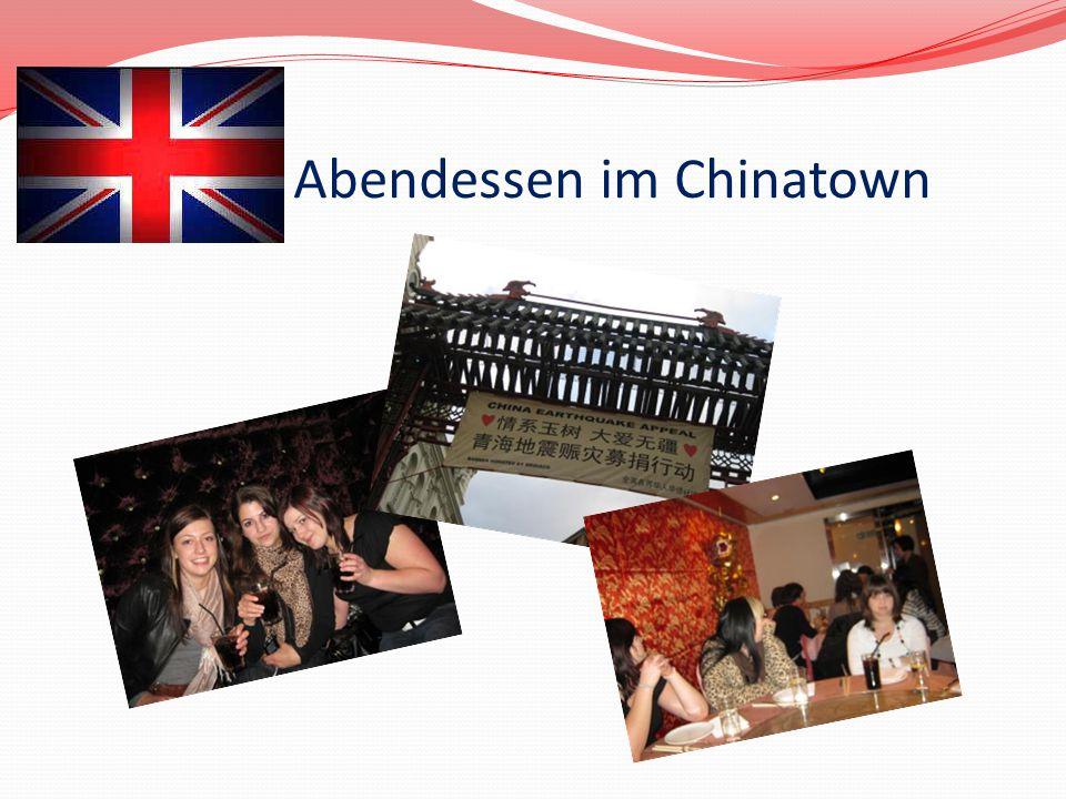 Abendessen im Chinatown