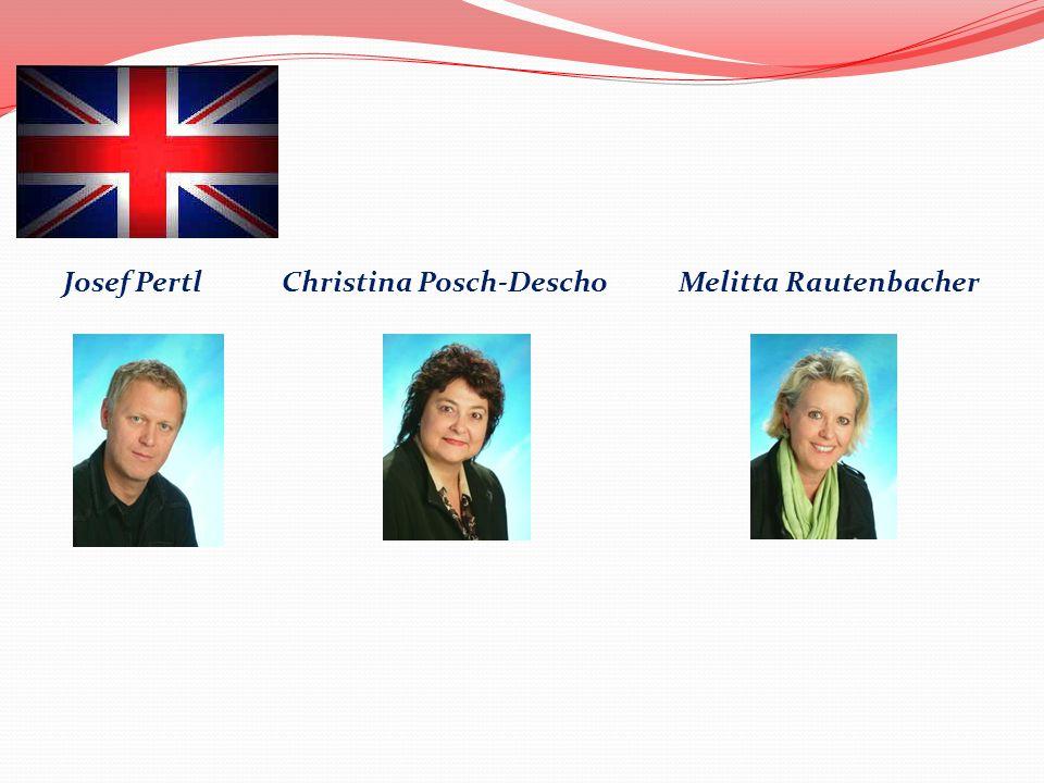 Josef Pertl Christina Posch-Descho Melitta Rautenbacher
