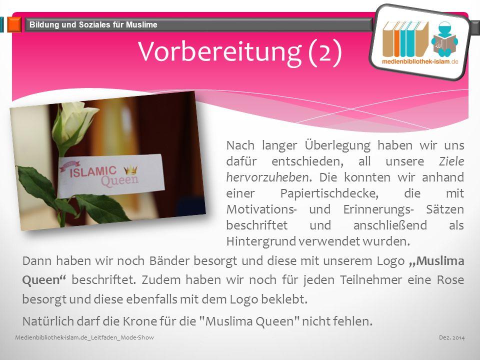 """Bildung und Soziales für Muslime Vorbereitung (2) Dann haben wir noch Bänder besorgt und diese mit unserem Logo """"Muslima Queen beschriftet."""