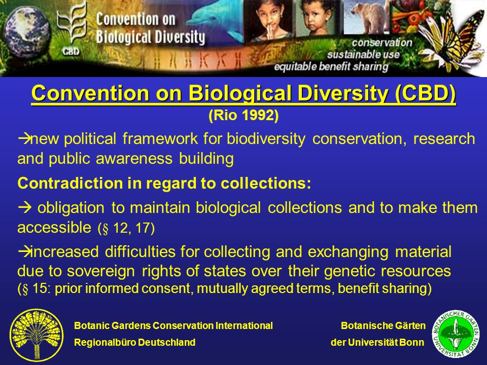 Scope of Biological Collections