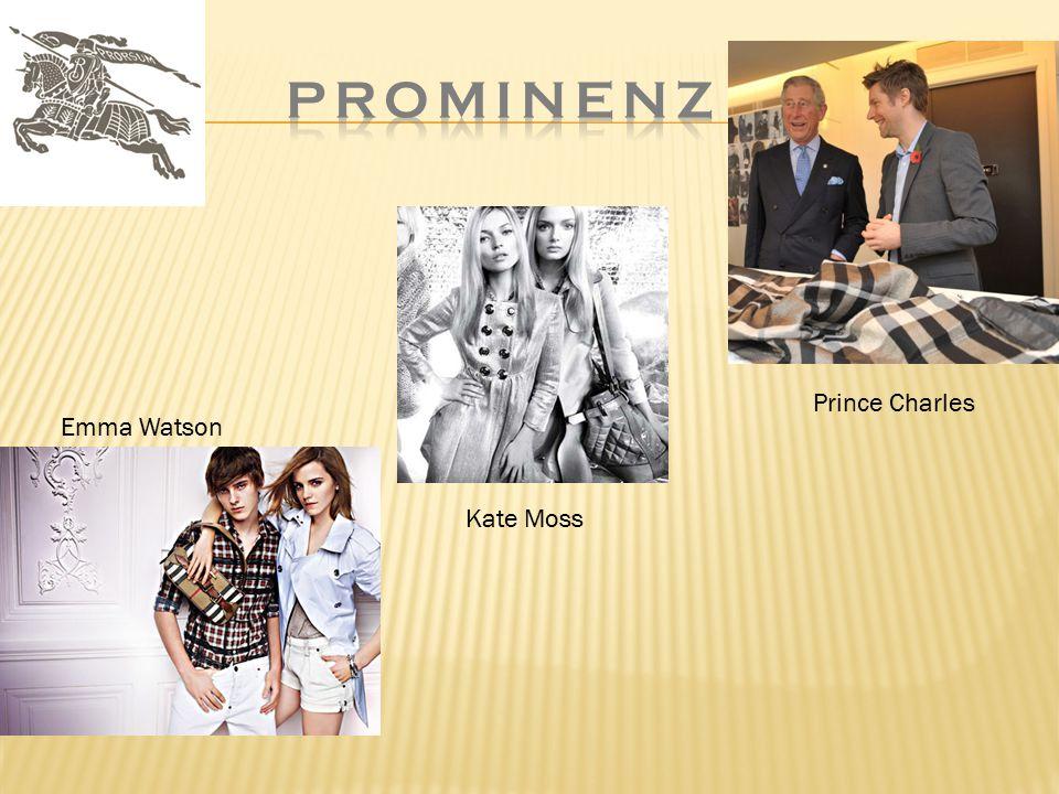 Emma Watson Prince Charles Kate Moss