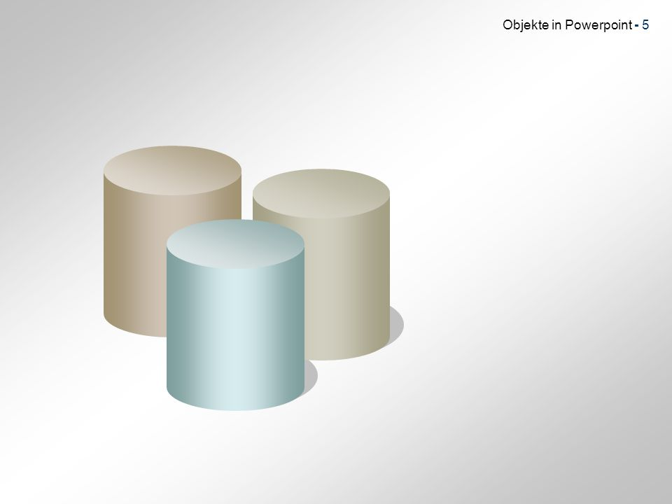 Objekte in Powerpoint - 26 Bilder in Bild I