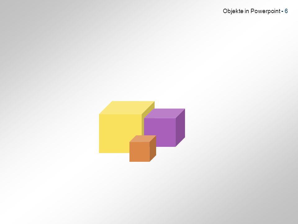 Objekte in Powerpoint - 7 Weiter