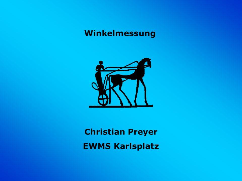 Winkelmessung Christian Preyer EWMS Karlsplatz