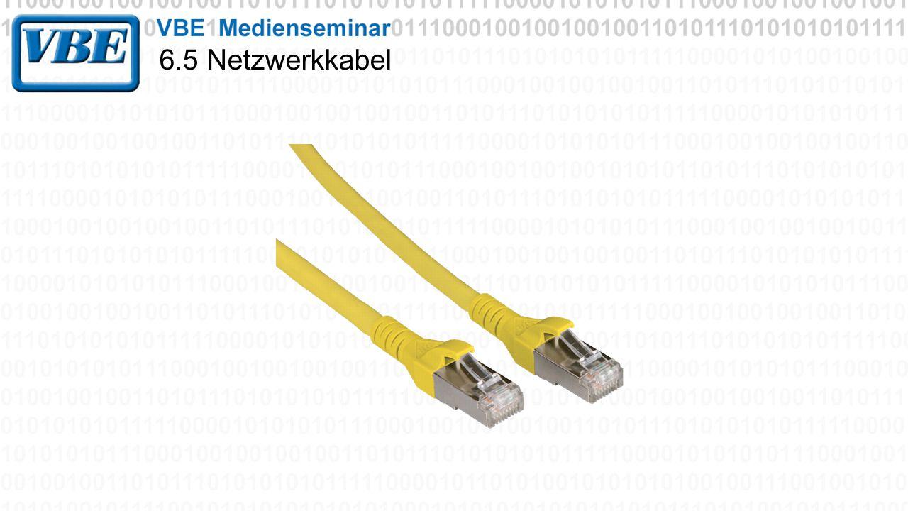 6.5 Netzwerkkabel