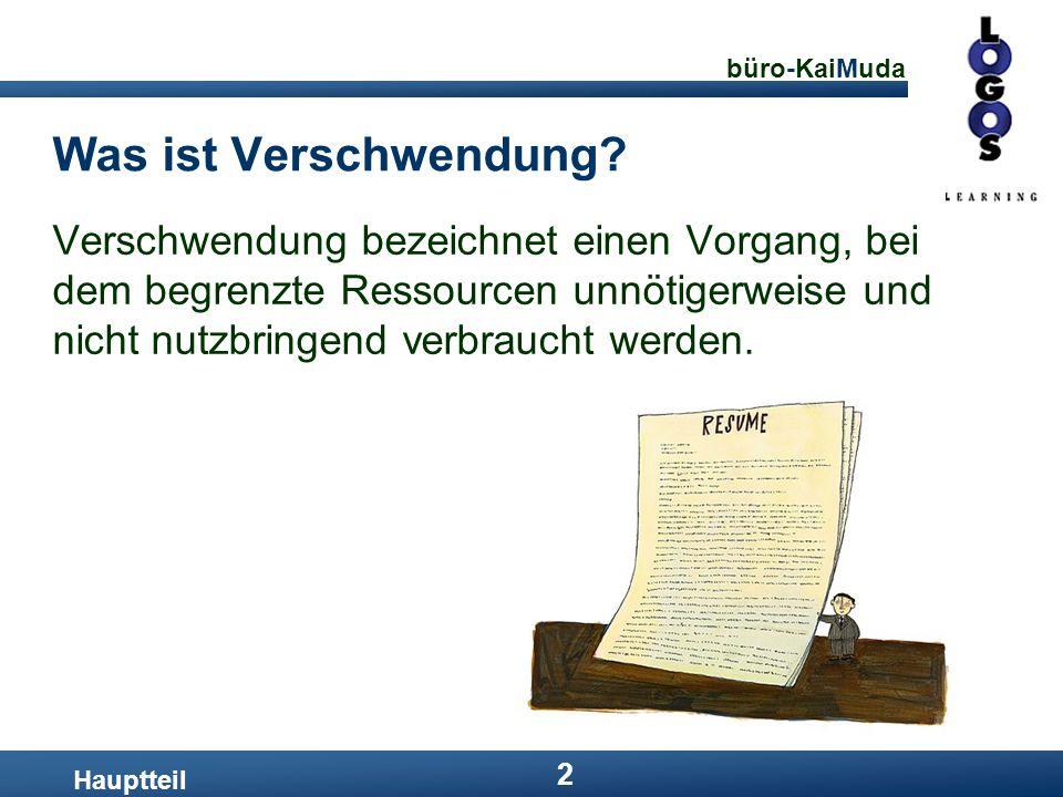 büro-KaiMuda 23 Lösungen: Baustein 5 Hauptteil