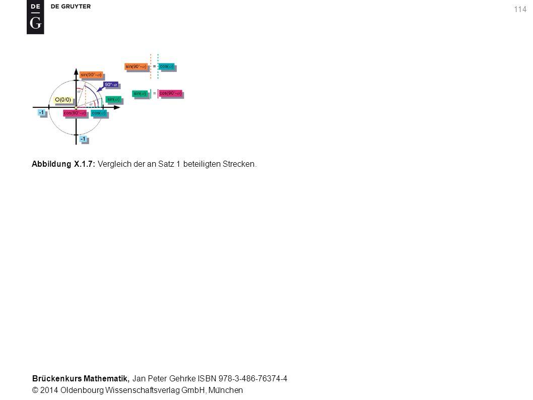 Brückenkurs Mathematik, Jan Peter Gehrke ISBN 978-3-486-76374-4 © 2014 Oldenbourg Wissenschaftsverlag GmbH, Mu ̈ nchen 114 Abbildung X.1.7: Vergleich der an Satz 1 beteiligten Strecken.
