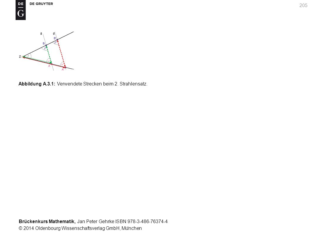Brückenkurs Mathematik, Jan Peter Gehrke ISBN 978-3-486-76374-4 © 2014 Oldenbourg Wissenschaftsverlag GmbH, Mu ̈ nchen 205 Abbildung A.3.1: Verwendete Strecken beim 2.