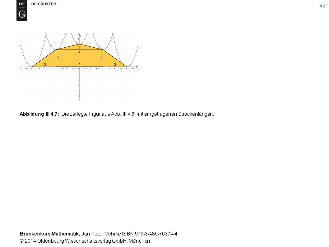 Brückenkurs Mathematik, Jan Peter Gehrke ISBN 978-3-486-76374-4 © 2014 Oldenbourg Wissenschaftsverlag GmbH, Mu ̈ nchen 42 Abbildung III.4.7: Die zerlegte Figur aus Abb.