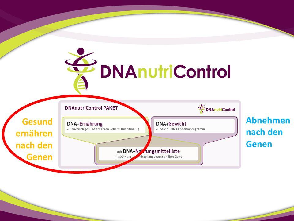 Abnehmen nach den Genen Gesund ernähren nach den Genen
