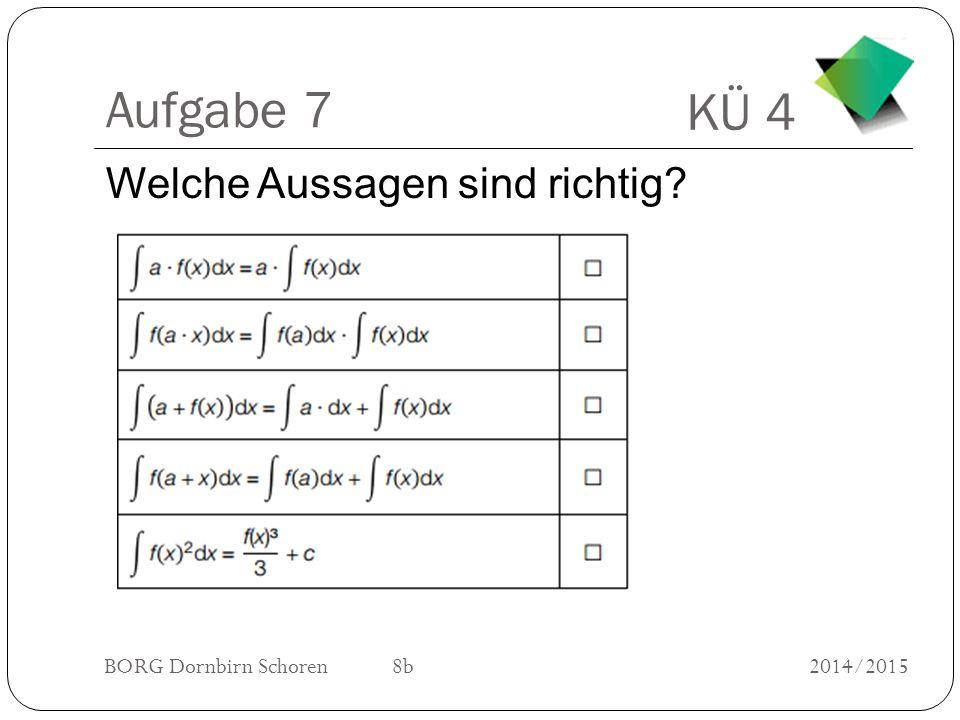 KÜ 4 BORG Dornbirn Schoren 8b2014/2015 Aufgabe 8 Wie groß ist die Wahrscheinlichkeit bei zweimaligem Würfeln die Augensumme 4 zu erzielen?
