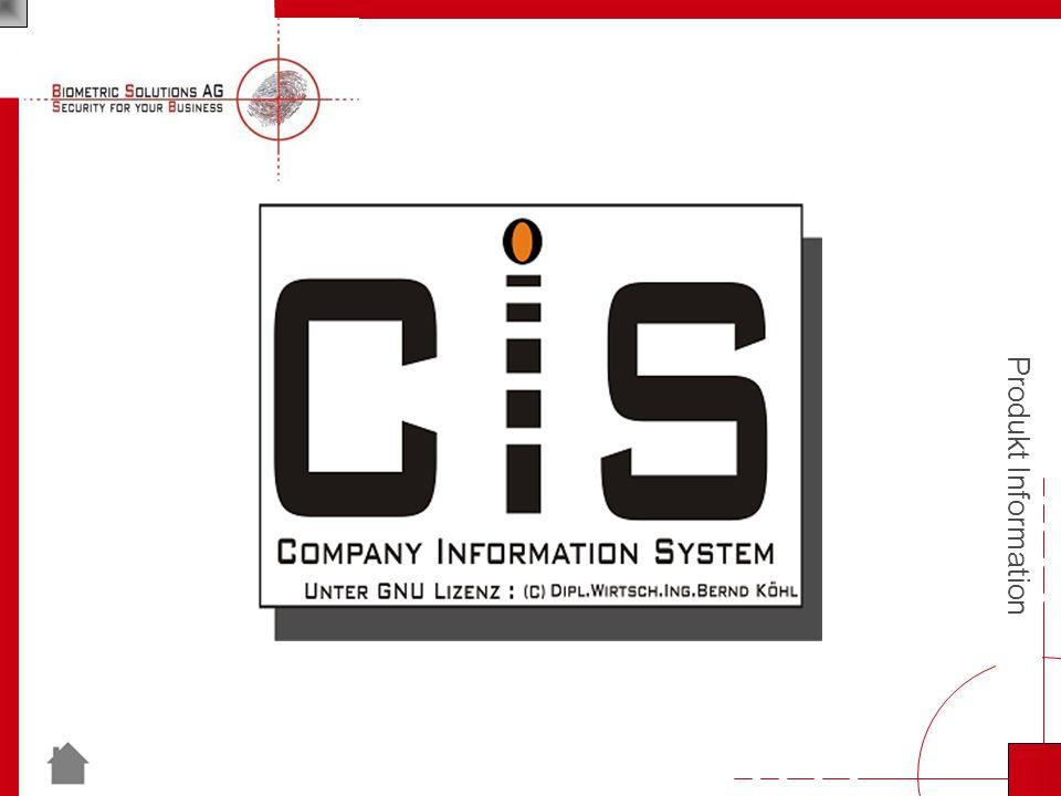 Produkt Information Willkommen