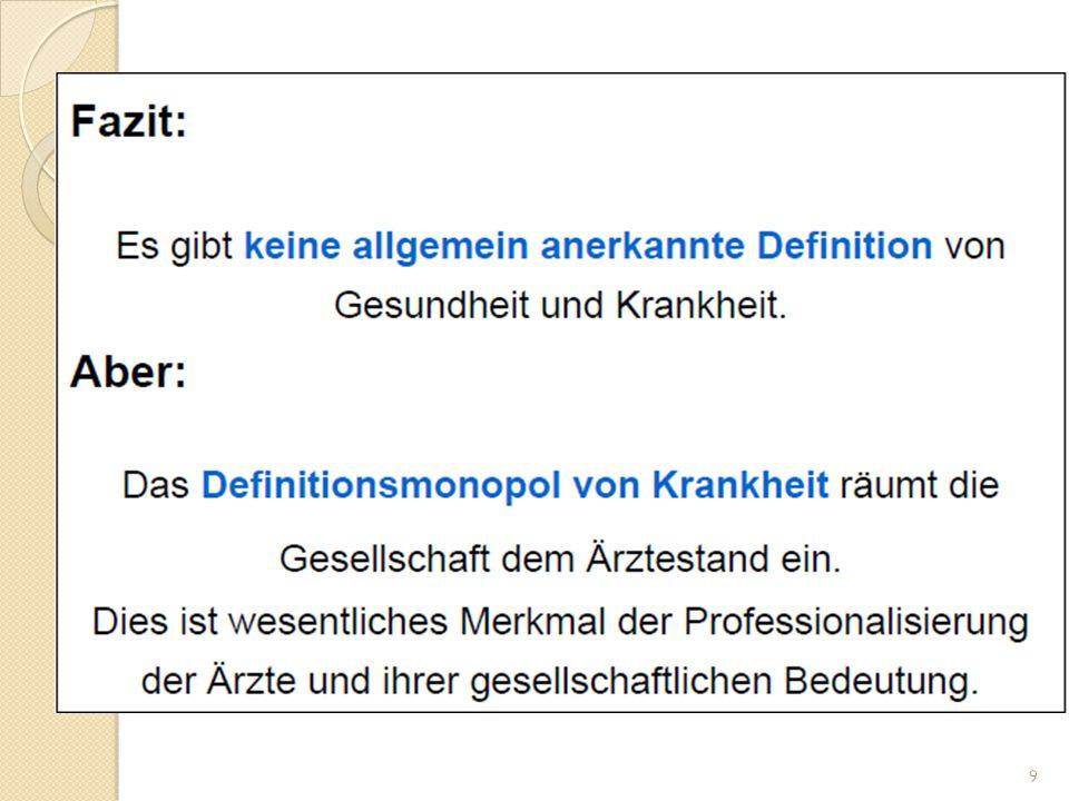 PH/ Gesundheitswissenchaften Keine direkte Übernahme von PH in Deutschland.