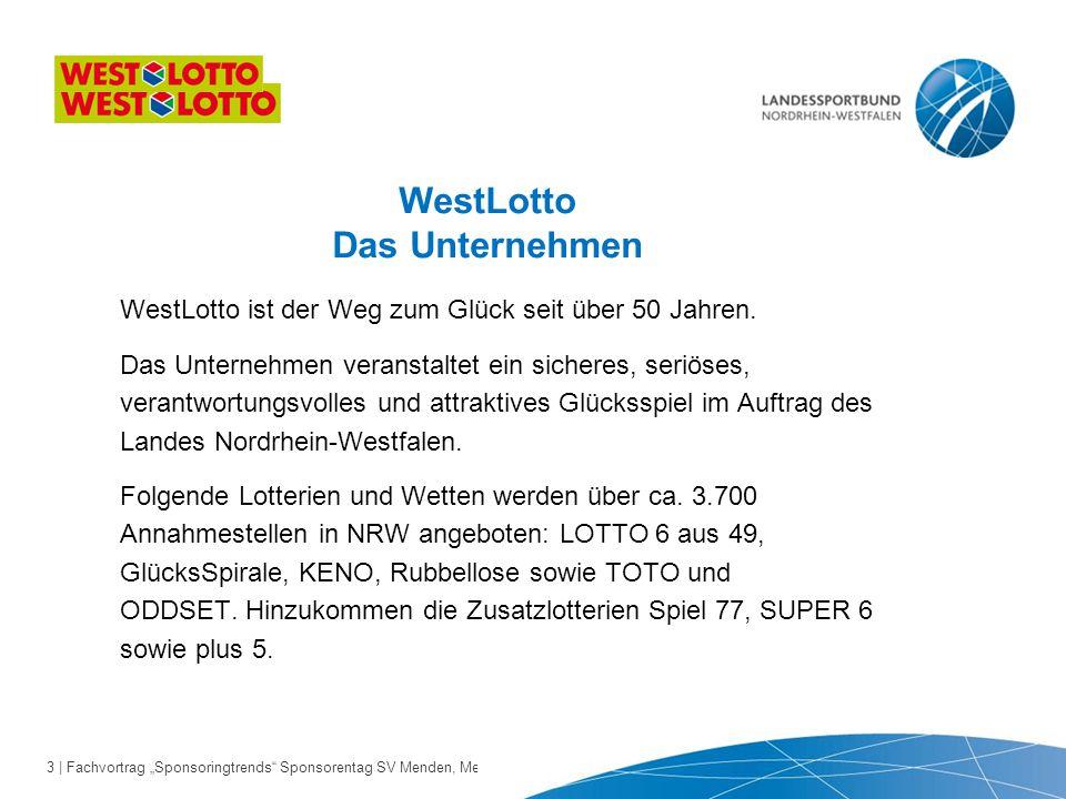 "44 | Fachvortrag ""Sponsoringtrends Sponsorentag SV Menden, Menden 24.10.2013"