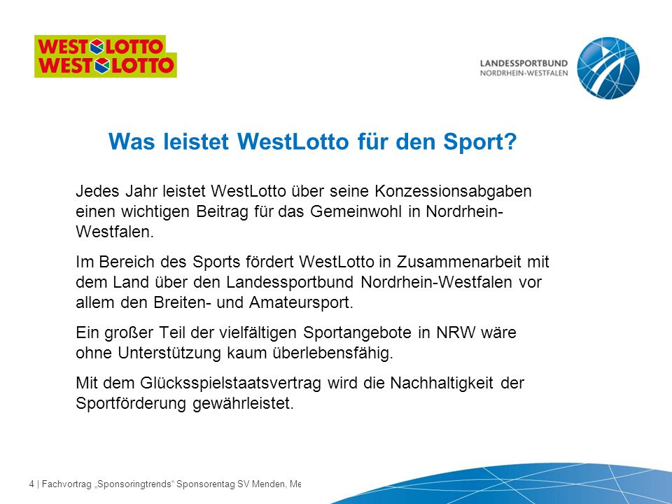 "25 | Fachvortrag ""Sponsoringtrends Sponsorentag SV Menden, Menden 24.10.2013"
