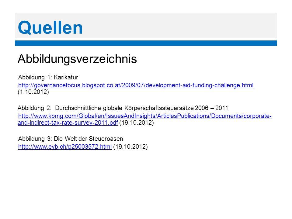 Quellen Abbildungsverzeichnis Abbildung 1: Karikatur http://governancefocus.blogspot.co.at/2009/07/development-aid-funding-challenge.html http://gover
