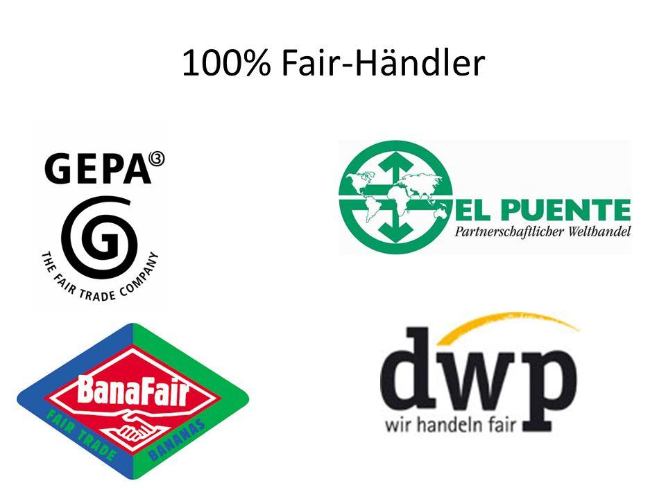 100% Fair-Händler