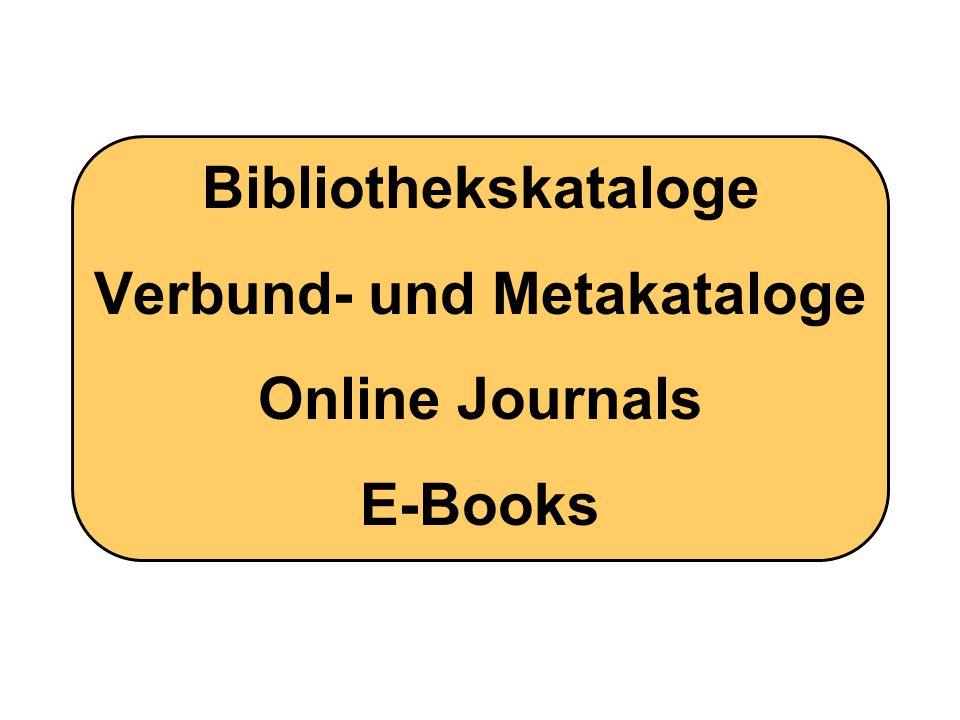 Bibliothekskataloge Schweiz: Weltweit: