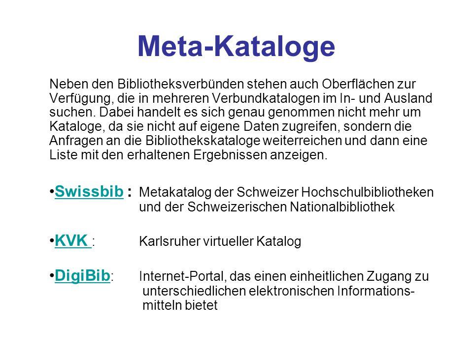 E-Books Direktsuche über HBZ Suche über Datenbanken