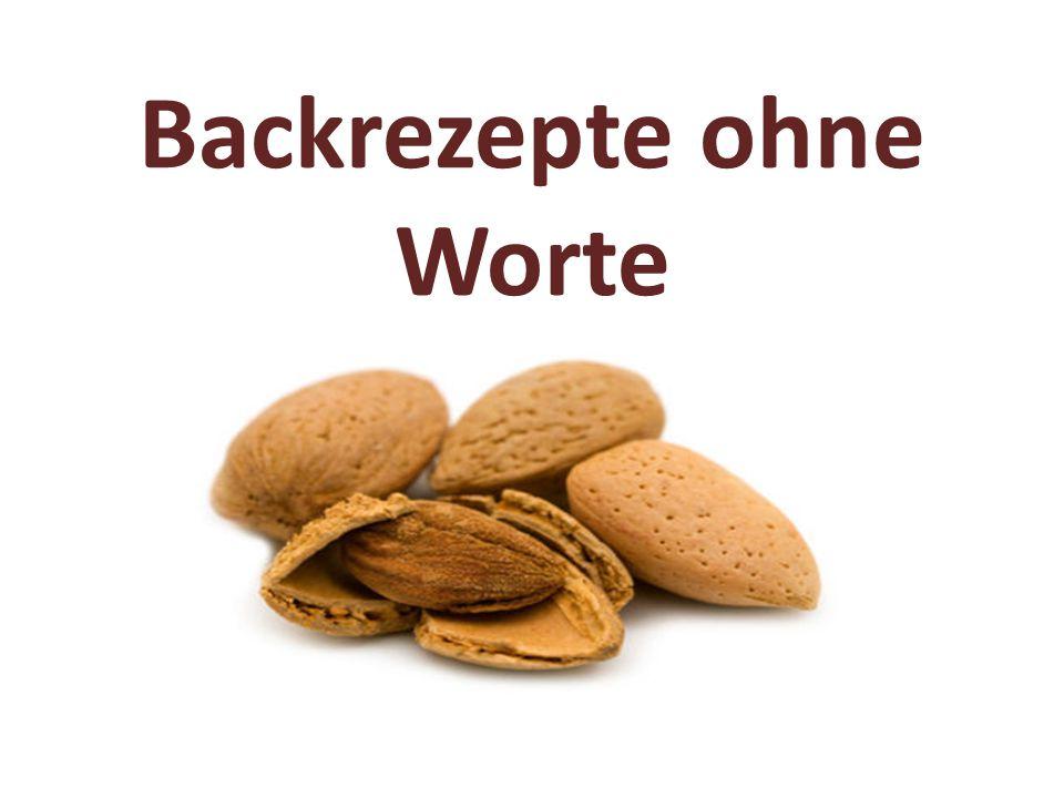 Chokladjitterbugg nennt sich diese rein optische Rezeptanweisung mit einem Feld von Mehl, zwei Hügeln aus Zucker, Schokolade, Fett und Ei