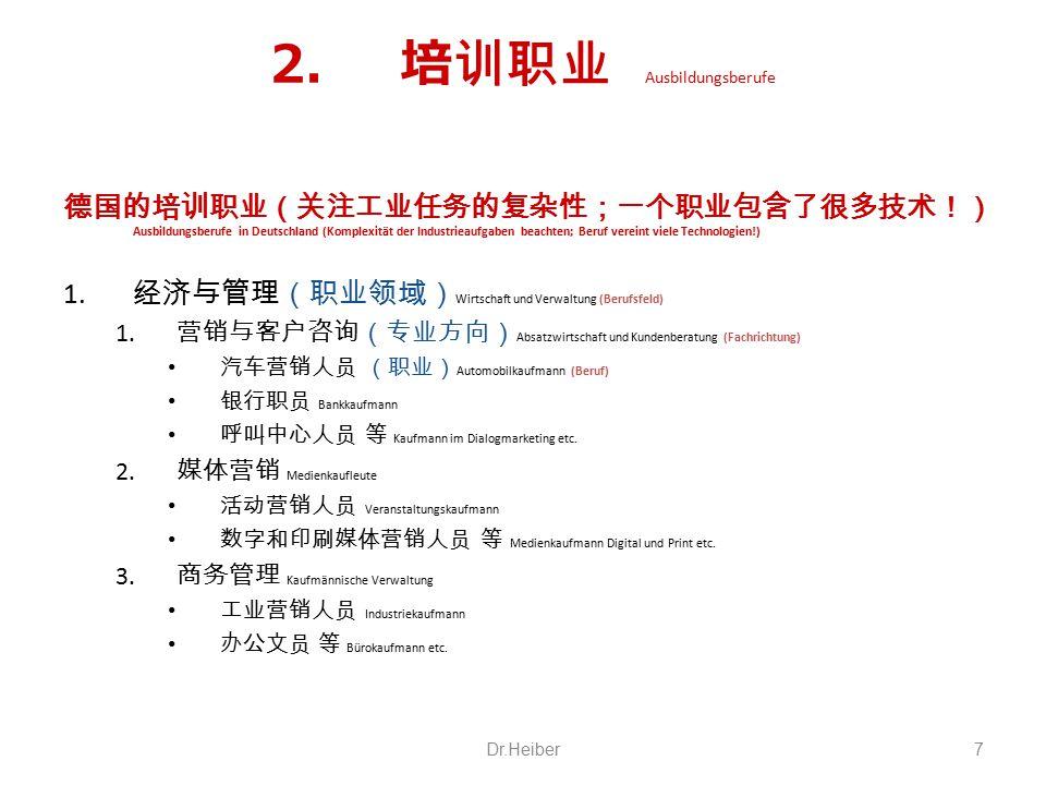 2.法律与公共管理 Recht und öffentliche Verwaltung 1.