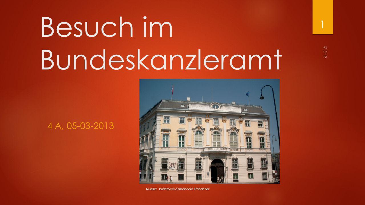 Besuch im Bundeskanzleramt 4 A, 05-03-2013 Quelle: bilderpool.at/Reinhold Embacher © SHR 1