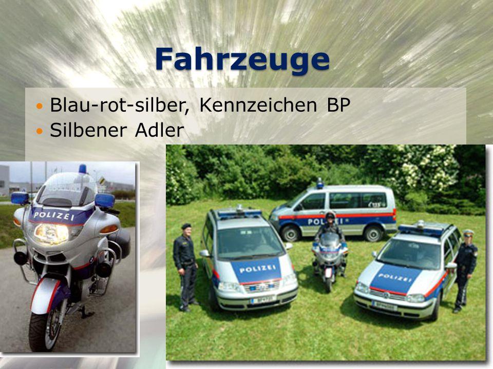 Fahrzeuge Blau-rot-silber, Kennzeichen BP Silbener Adler © Daniel Geiger, 0510176 24