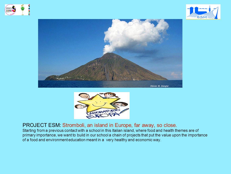 gehört noch zu Europa (Sizilien, Italien) sehr weit von unserer täglichen Realität entfernt eine Vulkaninsel: Transport besonderen Bedingungen (z.B.