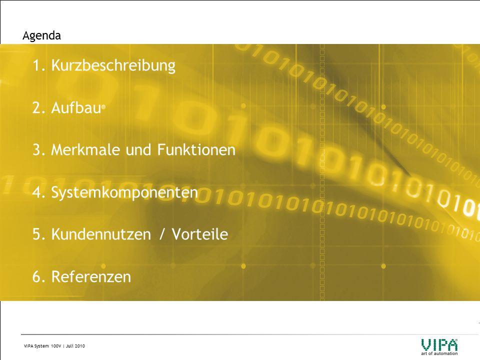 VIPA System 100V | Juli 2010 Agenda 1. Kurzbeschreibung 2.