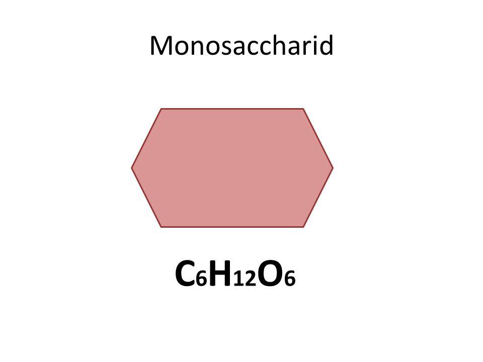Monosaccharid C 6 H 12 O 6